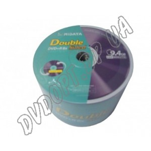 DVD диск Ridata DVD+R 9,4Gb DoubleSided bulk 50 8x