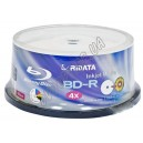 Blu-ray диск Ridata BD-R SL 25Gb 4x box 30 Printable