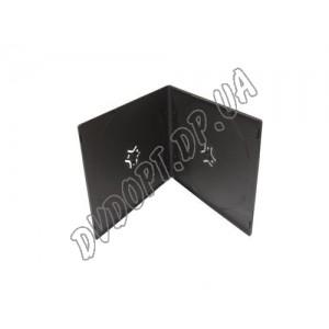 VCD box/2 black 7mm glossy (10 шт.)