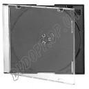 CD box slim black(обычное качество) 5,2mm (10 шт.)