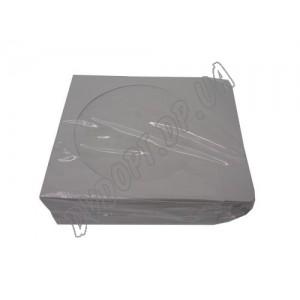 Конверт бумажный для CD с окошком (100шт.)