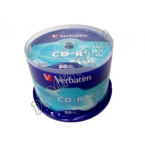 CD диск Verbatim CD-R AZO cristal 700MB 80min box 50 52x
