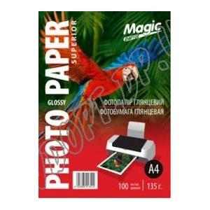 Фотобумага Magic A4 135г/м2, глянец (100л)