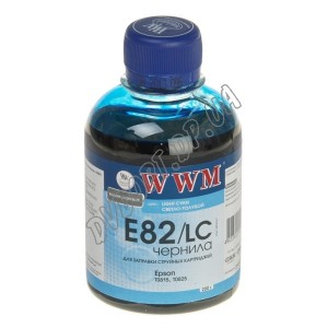 Чернила WWM EPSON Stylus Photo Light Cyan (200г) E82LC