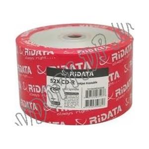 CD диск Ridata CD-R 700MB 80min Bulk 50 52x