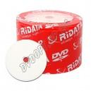 DVD диск RIDATA DVD-R 4,7Gb bulk 50 16x printable De Luxe(с прокладкой)