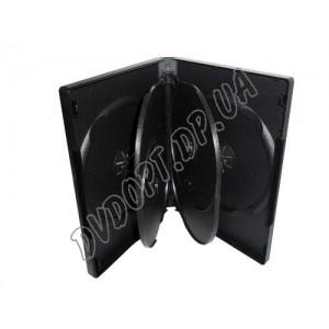 DVD box на 6 black  glossy     (1шт)