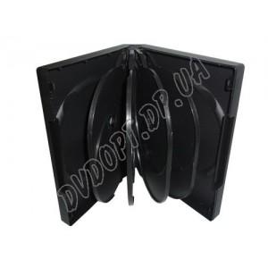 DVD box на 10 black  glossy(1 шт.)