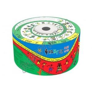 DVD диск Kaktuz DVD-R 4,7Gb bulk 50 8-16x
