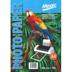 Фотобумага Magic A4 140г/м2, матовая двухсторонняя (100л)