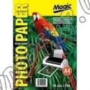 Фотобумага Magic A4 230г/м2, глянцевая двухсторонняя (50л)