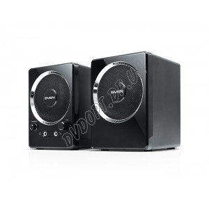 SVEN 247 (black) Active system 2*2W, 2mini-jack 3,5 + USB