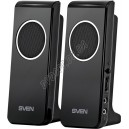 SVEN 314 (black) Active system 2*2W speaker, USB