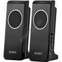 SVEN 314 (black) Active system 2*2W speaker, USB