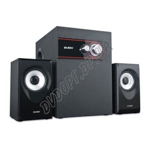 SVEN MS-105 (black) Active 2.1 6W Woofer + 2*2,5W