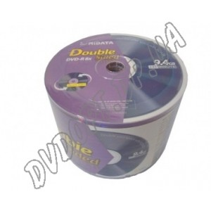 DVD диск Ridata DVD-R 9,4Gb DoubleSided bulk 50 8x