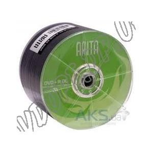DVD диск Arita DVD+R 8,5Gb DL bulk 25 8x
