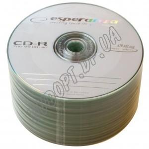 CD диск Esperanza CD-R 700MB 80min Bulk 50 52x