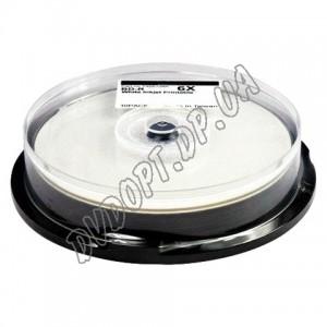 Blu-ray диск CMC BD-R DL 50Gb 6x printable glossy box 10