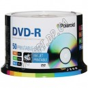 DVD диск Polaroid DVD-R 4,7Gb bulk 50 16x printable