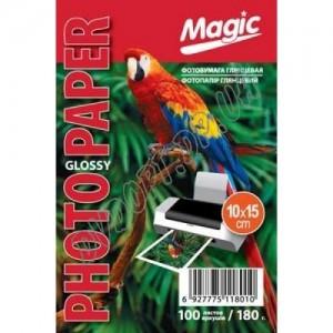 Фотобумага Magic 10X15 180г/м2, глянец (100л)