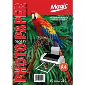 Фотобумага Magic A4 230г/м2, глянец (50л)