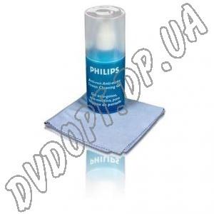 Набор для ухода за ноутбуками Pilips 50мл + микрофибра