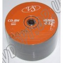 CD диск VS CD-RW 700MB 80min bulk 25
