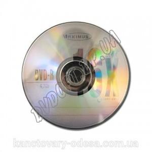 DVD диск Maximus DVD-R 4,7Gb bulk 50 16x