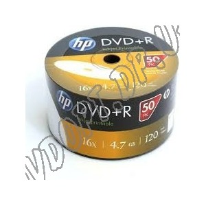 DVD диск HP DVD+R 4,7Gb bulk 50 16x printable