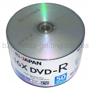 DVD-R Ridata RI-Japan 4,7Gb bulk 50 16x