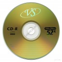 CD диск VS CD-R 4,7Gb bulk 50 52х