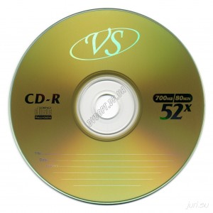 CD диск VS CD-R 700Mb bulk 50 52х