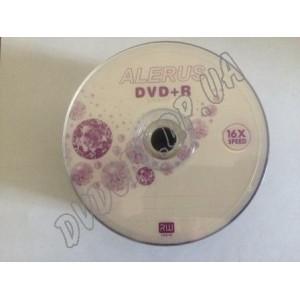 DVD диск Alerus DVD+R 4,7Gb bulk 50 16x