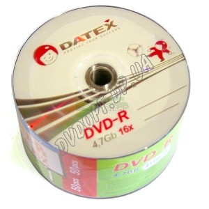 DVD-R Datex Footbol 4,7Gb bulk 50 16x