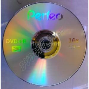 DVD диск Perfeo DVD-R 4,7Gb bulk 50 16x