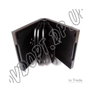 VCD box/10 black 10mm matt (1 шт.)