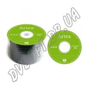 DVD диск Artex DVD+R 8,5Gb DL bulk 50 8x