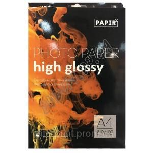 Фотобумага Papir A4 210г/м2, глянец (100л)