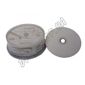 DVD диск Ridata DVD+R 8,5Gb DualLayer printable box 25 8x